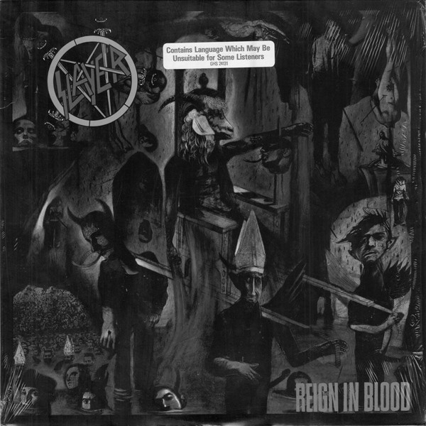 reign in blood lp