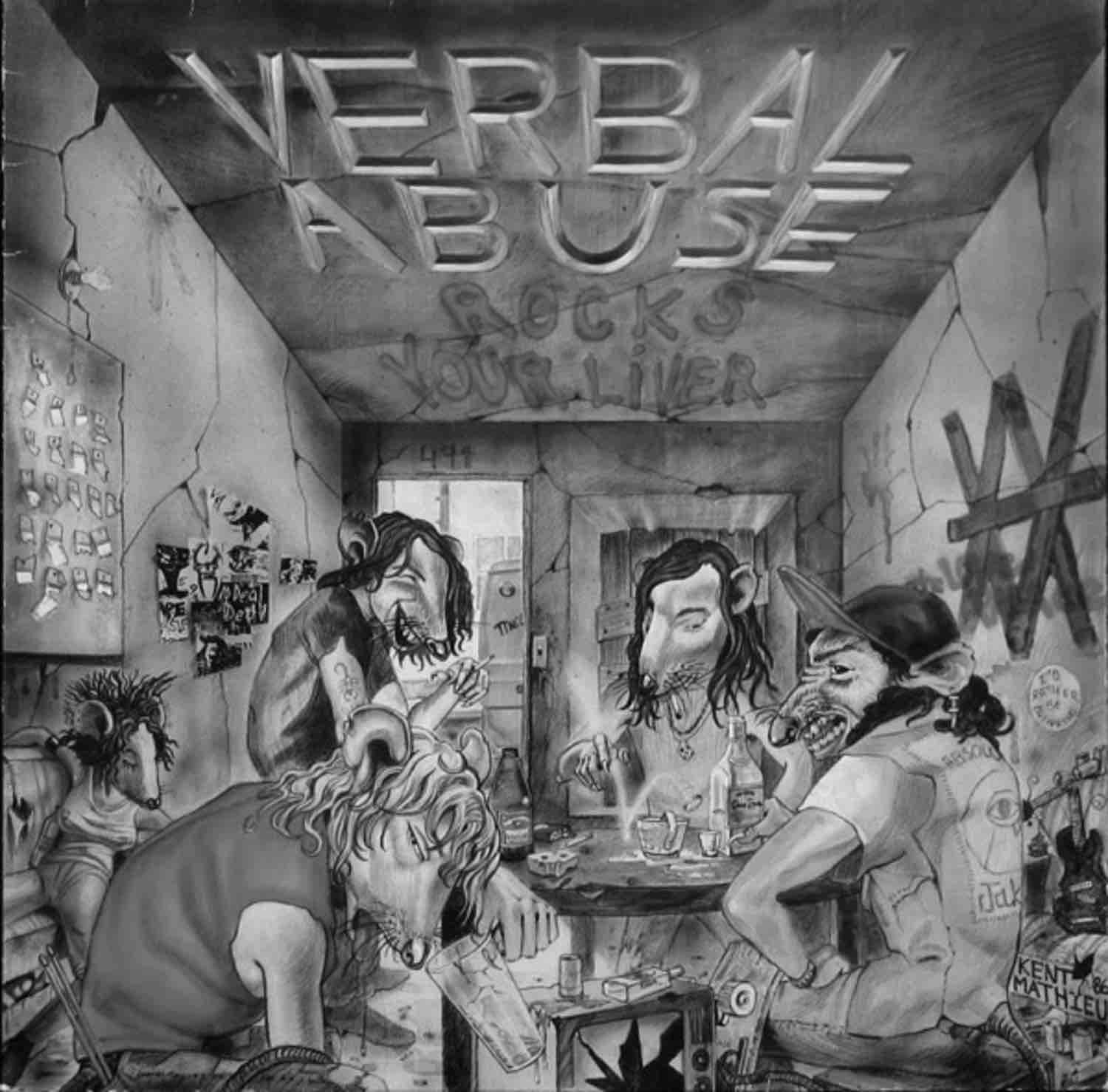 verbal abuse rocks your liver lp
