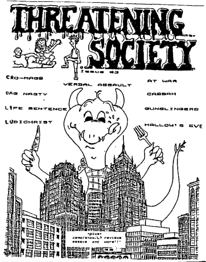 Threatening Society Issue 3 cover