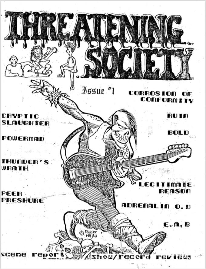 Threatening Society Issue 1