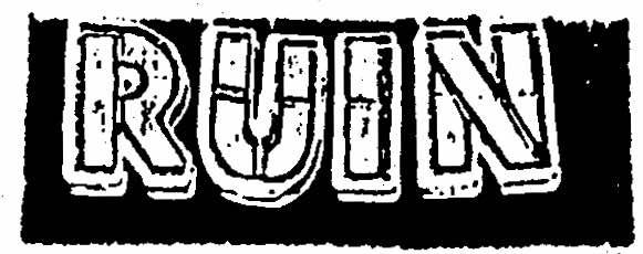 1 - Ruin - logo - 2