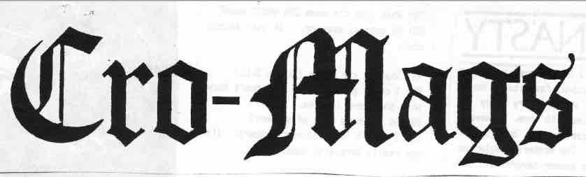 3 - Cro-Mags - logo