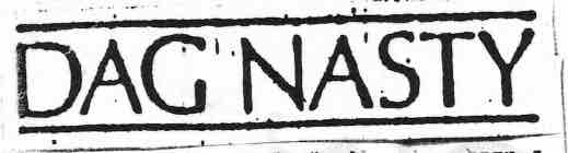 3 - Dag Nasty - logo