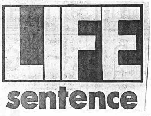 3 - Life Sentence - logo