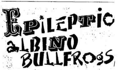 7 - Epileptic Albino Bullfrogs - logo
