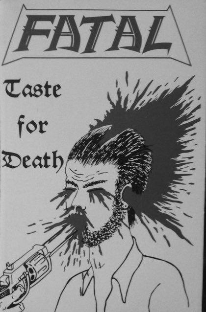 fatal taste for death cover